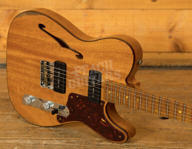Fender Custom Shop Limited Edition Dual P90 Thinline Tele Relic Aged Natural