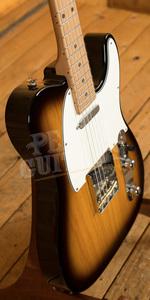 Suhr Classic T Pro Peach LTD - 2 Tone Tobacco Burst - Roasted Maple Neck
