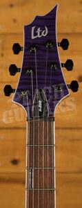 ESP LTD H-200 FM STP See Thru Purple