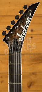 Jackson Pro Series Soloist SL2P MAH HT , Ebony Fingerboard, Transparent Black Bu