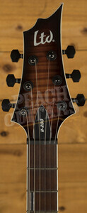 ESP LTD H-200 FM Dark Brown Sunburst
