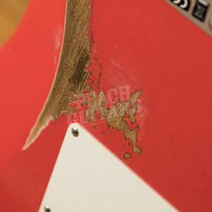 Fender Custom Shop '61 Strat Relic/CC Hardware Fiesta Red Left Handed
