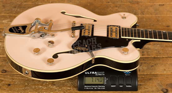 Gretsch G6609TDC Limited Edition Broadkaster Shell Pink
