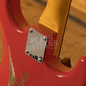 Fender Custom Shop '59 Strat Relic/CC Hardware Fiesta Red Left Handed