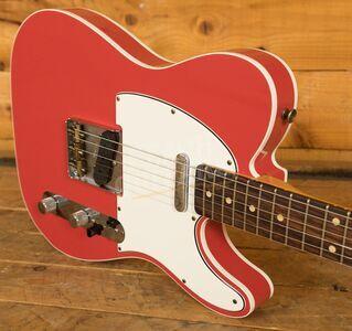 Fender Custom Shop '62 Tele Custom Journeyman Relic Fiesta Red