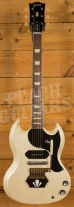 Gibson Custom Brian Ray '62 SG Junior - White Fox