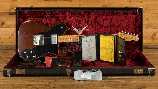 Fender Custom Shop 2020 LTD '72 Tele Custom Relic Aged Walnut