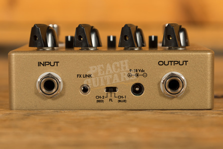 Suhr Eclipse Dual Overdrive/Distortion Pedal Gold 2020 Limited Edition