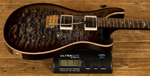 PRS Wood Library Custom 24 Charcoal Tri-Colour Burst /Ziricote