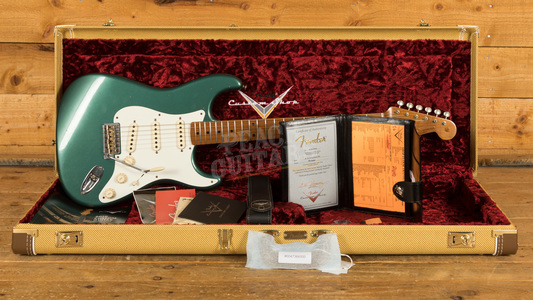 Fender Custom Shop 58 Strat Sherwood Green Metallic