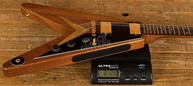 Gibson Custom 59 Mahogany Flying V Sunshine Antique Natural Light Aged GH