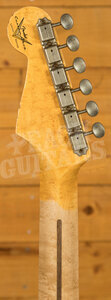 Fender Custom Shop Limited Tomatillo Strat III Relic Faded Aged Champagne Metall