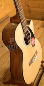 Fender CB-60SCE Bass Laurel Fingerboard Natural