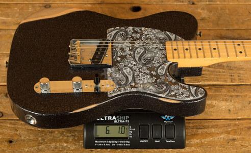 Fender Brad Paisley Esquire Maple Black Sparkle