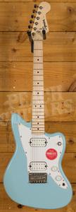 Squier Mini Jazzmaster HH Maple Fingerboard Daphne Blue