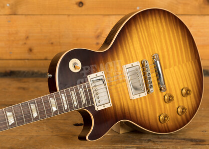 Gibson Custom 60th Anniversary Les Paul Handpicked Top Kindred Burst Left Handed
