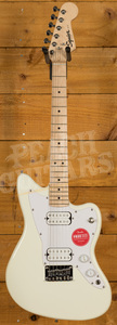 Squier Mini Jazzmaster HH Maple Fingerboard Olympic White
