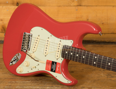 Fender LE American Pro Strat Fiesta Red