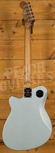Reverend Double Agent OG - Metallic Silver Freeze