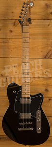 Reverend Charger HB Midnight Black