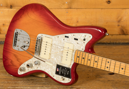 Fender American Ultra Jazzmaster Plasma Red Burst Maple