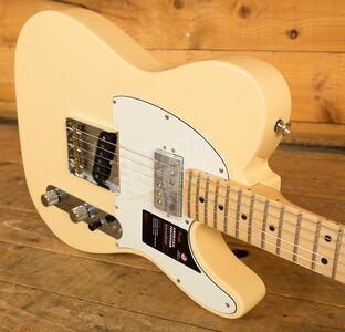 Fender American Performer Telecaster Hum Maple Vintage White