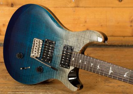 PRS SE Ltd Edition Custom 24 Charcoal Blue Fade