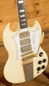 Gibson Custom Jimi Hendrix 67 SG Custom Classic White Aged GM