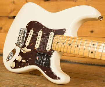Fender American Professional II Stratocaster Olympic White Maple