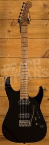 Charvel Pro-Mod DK24 HH 2PT CM Caramelized Maple Gloss Black