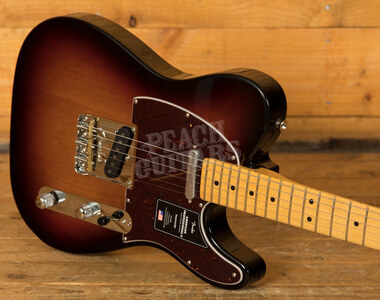 Fender American Professional II Telecaster 3-Color Sunburst Maple