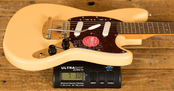 Squier Classic Vibe 60s Mustang Laurel Vintage White