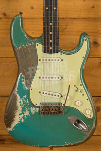 Fender Custom Shop '61 Strat Heavy Relic Taos Turquoise Dale Wilson