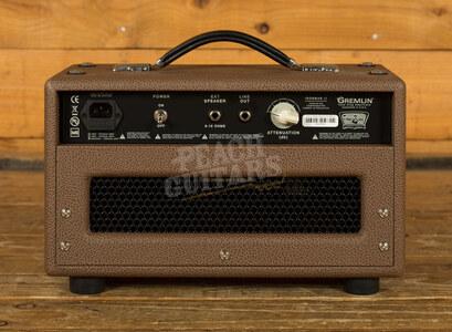 Tone King Gremlin Head - Brown/Beige Compact 5 watt Head