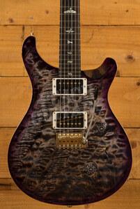 PRS Wood Library Custom 24 Charcoal Purpleburst Roasted Maple/Ziricote