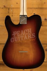 Fender American Performer Tele Hum Maple Neck 3 Tone Sunburst