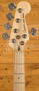 Squier Affinity Jazz Bass V Maple Olympic White