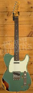 Fender Custom Shop LTD '60 Tele Custom Heavy Relic Sherwood Green over 3TSB