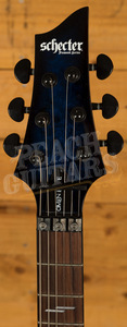 Schecter Omen Elite-6 FR See-Thru Blue Burst