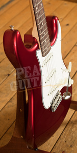 Fender Custom Shop '62 Strat NOS Rosewood Candy Apple Red