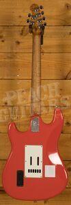Music Man Cutlass HSS Trem Roasted Maple Neck Coral Red