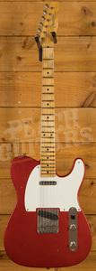 Fender Custom Shop 2020 '57 Tele Journeyman Relic Aged Candy Apple Red