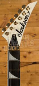 Jackson Pro Series RR3 Rhoads Ivory w/Black Pinstripe