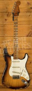 Fender Custom Shop '55 Strat Heavy Relic 2-Tone Sunburst MB Dale Wilson