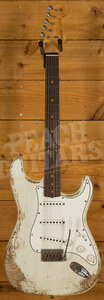Fender Custom Shop '60 Strat Heavy Relic Rosewood Olympic White