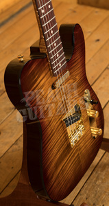 "Xotic ""Xotique"" XTC Tiger Eye Flame Maple Top"