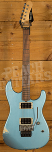 Friedman Cali Metallic Blue Medium Aged