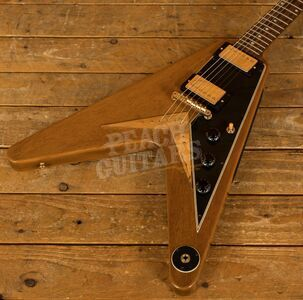 "Gibson Custom 59 Flying V ""Sunshine Antique Natural"" VOS GH"