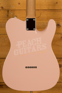 Suhr Alt T Dealer Select - Shell Pink w/Roasted Maple/RW Left Handed