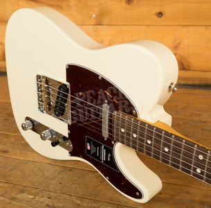 Fender American Professional II Telecaster Olympic White Rosewood